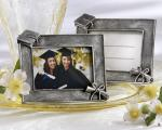 graduations antique finish photo frame place card holder