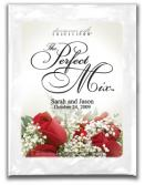 personalized red roses
