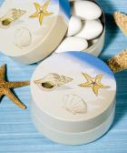 beach themed mint tin favors